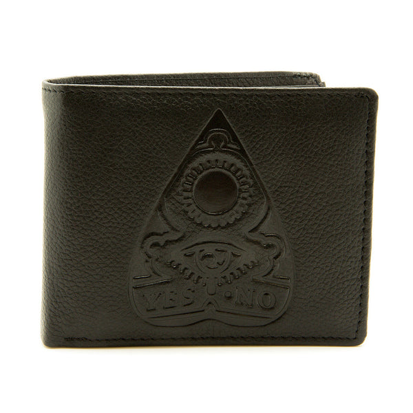 Ouija - Black Leather Wallet