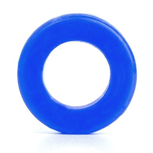 Dark Blue Silicone Tunnel - Custom Flesh Plugs & Gauges, Alternative, Tattoo - Silicone Plugs - 1