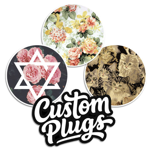 Floral - Sticker Pack - Custom Flesh Plugs & Gauges, Alternative, Tattoo - Stickers - 1