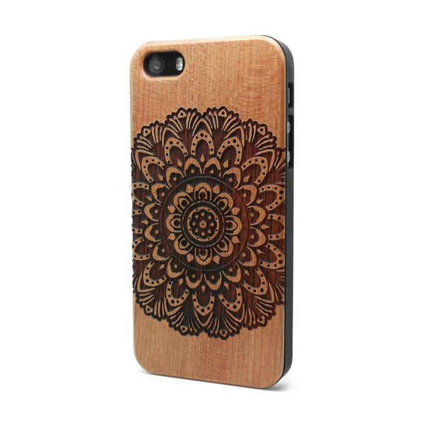 Mandala Bold - iPhone Case - Custom Flesh Plugs & Gauges, Alternative, Tattoo - Phone Cases - 1