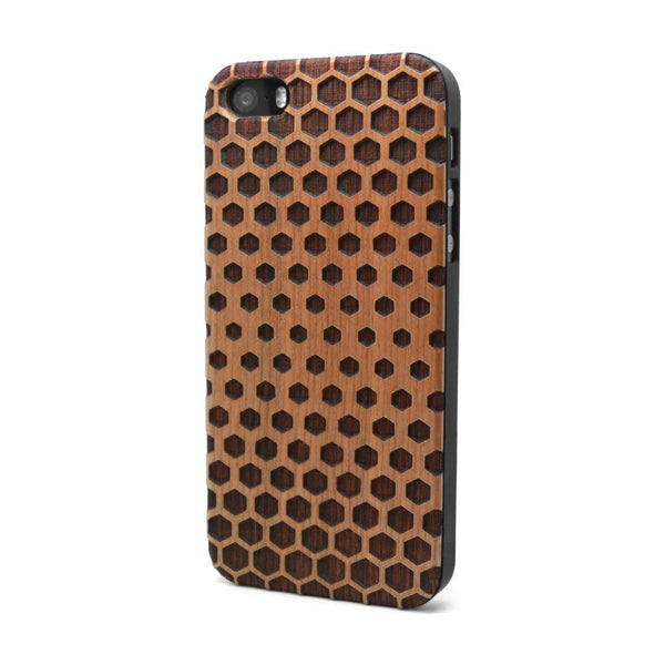 Honeycomb One - iPhone Case - Custom Flesh Plugs & Gauges, Alternative, Tattoo - Phone Cases - 1