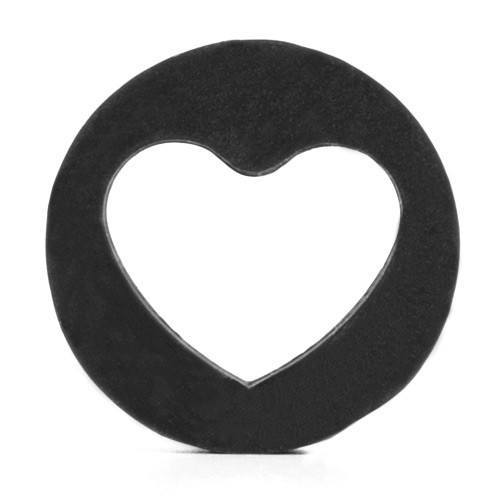 Silicone Heart Plug - Custom Flesh Plugs & Gauges, Alternative, Tattoo - Silicone Plugs - 1