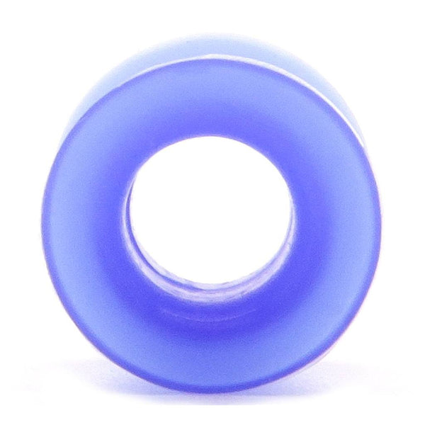 Blue Squishy Silicone Tunnel - Custom Flesh Plugs & Gauges, Alternative, Tattoo - Silicone Plugs - 1