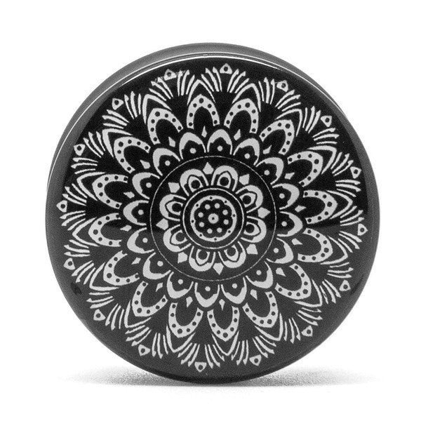 Black and White Mandala - Plug