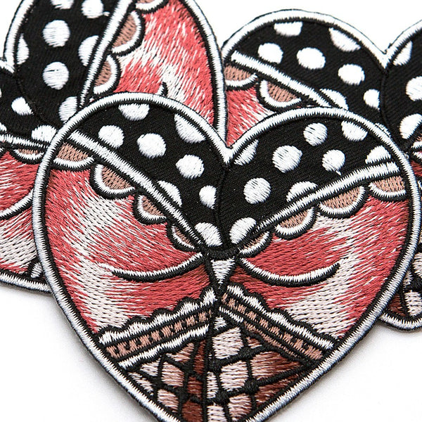 Butt Heart Patch - Custom Flesh Plugs & Gauges, Alternative, Tattoo - Patch - 1