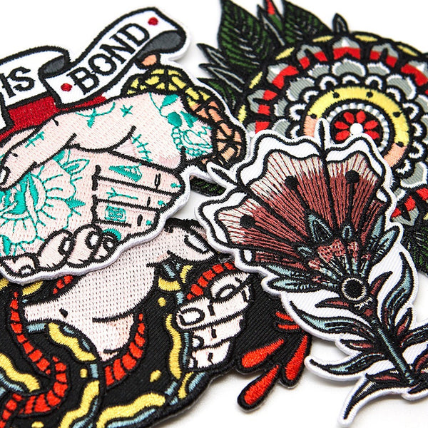 Colour Patch Pack - Custom Flesh Plugs & Gauges, Alternative, Tattoo - Patch - 1