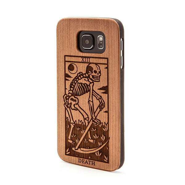 Death Tarot -  Samsung Galaxy Case - Custom Flesh Plugs & Gauges, Alternative, Tattoo - Phone Cases - 1