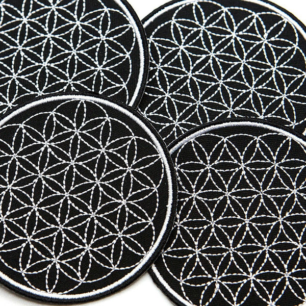 Flower of Life Patch - Custom Flesh Plugs & Gauges, Alternative, Tattoo - Patch - 1