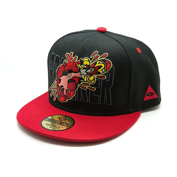 Heartbreaker Snapback - Custom Flesh Plugs & Gauges, Alternative, Tattoo - Snapbacks - 1