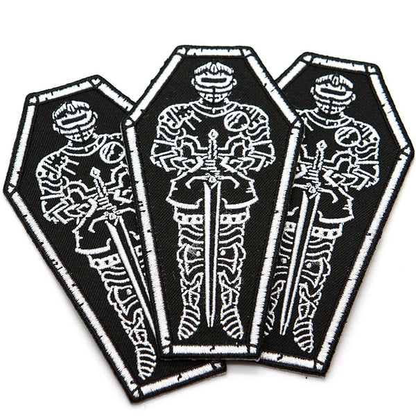 Knight Patch - Custom Flesh Plugs & Gauges, Alternative, Tattoo - Patch - 1