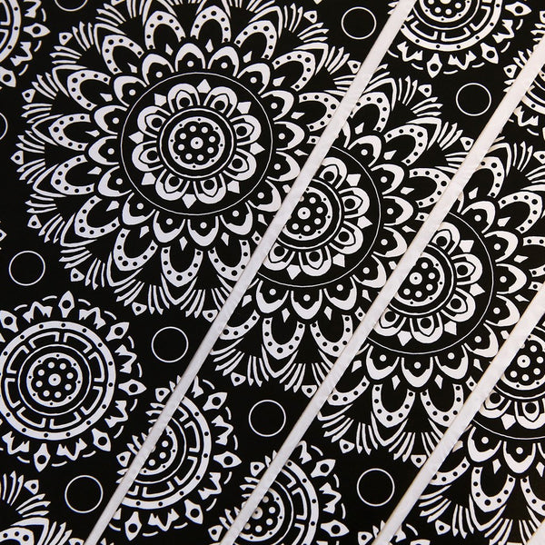 Mandala Wrapping Paper - Custom Flesh Plugs & Gauges, Alternative, Tattoo - Wrapping Paper - 1