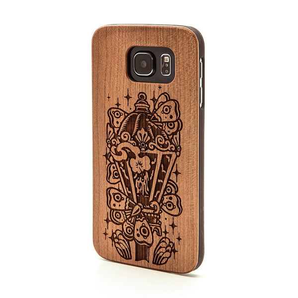 Moth - Samsung Galaxy Case - Custom Flesh Plugs & Gauges, Alternative, Tattoo - Phone Cases - 1