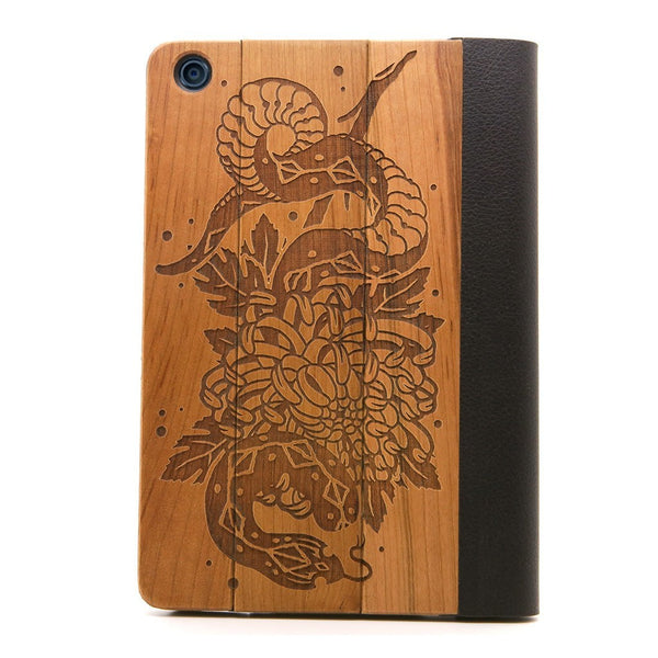 Snake iPad Mini Case - Custom Flesh Plugs & Gauges, Alternative, Tattoo - iPad Case - 1