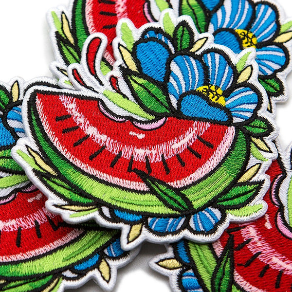 Watermelon Slice Patch - Custom Flesh Plugs & Gauges, Alternative, Tattoo - Patch - 1
