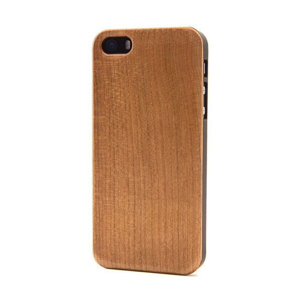 Plain Wood iPhone Case - Custom Flesh Plugs & Gauges, Alternative, Tattoo - Phone Cases - 1