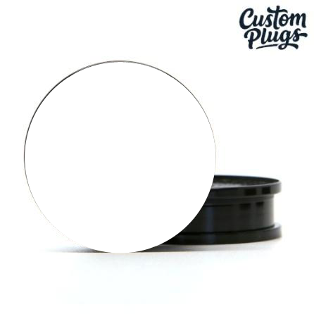 Black Screwback - Custom Flesh Plugs & Gauges, Alternative, Tattoo - Generator - 1