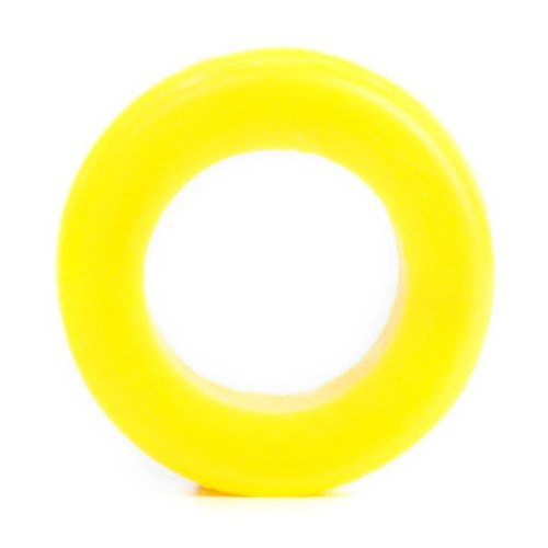 Yellow Silicone Tunnel - Custom Flesh Plugs & Gauges, Alternative, Tattoo - Silicone Plugs - 1