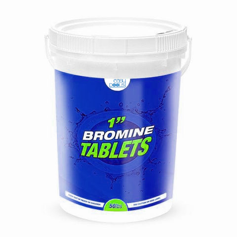 "Easy 1"" Bromine Tablets- 25Lbs. Bucket"