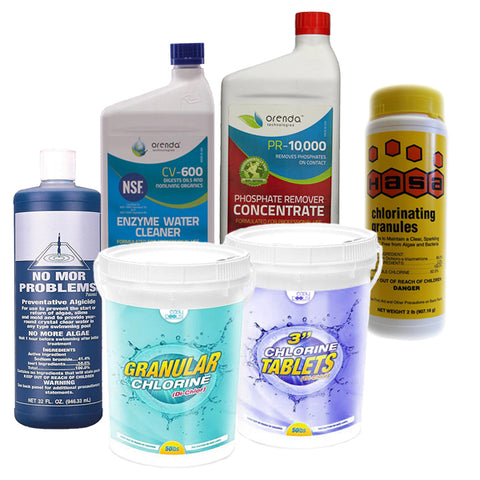 Easy Maintenance Chemical Bundle