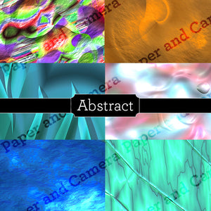 Abstract Digital Backdrop Set