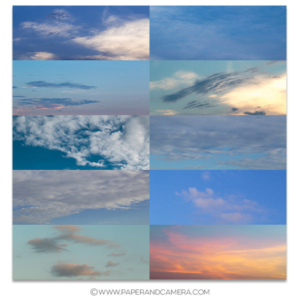 Angelic Skies Overlay Set