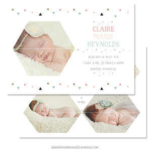Angles Birth Announcement