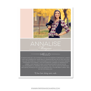 Annalise Blog Board