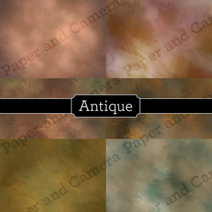 Antique Digital Backdrop Set