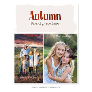 Autumn Days Blog Board