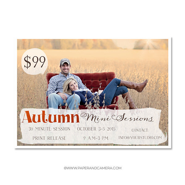 Autumn Days Marketing Board