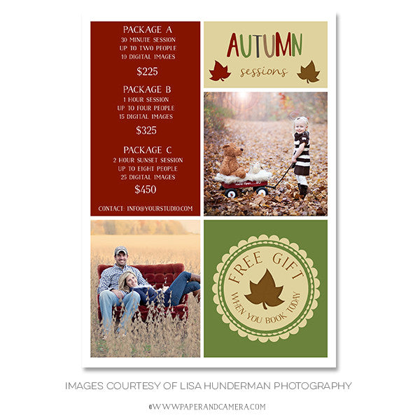 Autumn Leaves Marketing Board