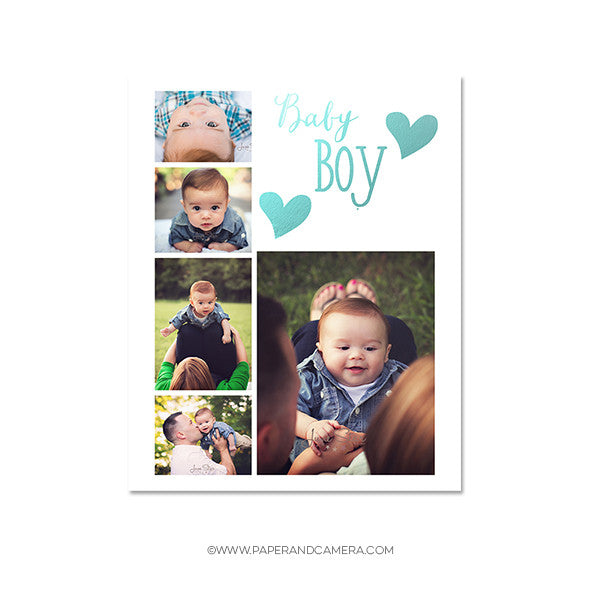 Baby Boy Blog Board