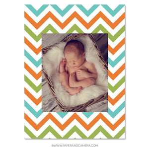 Baby Boy Sticky Album Template Set