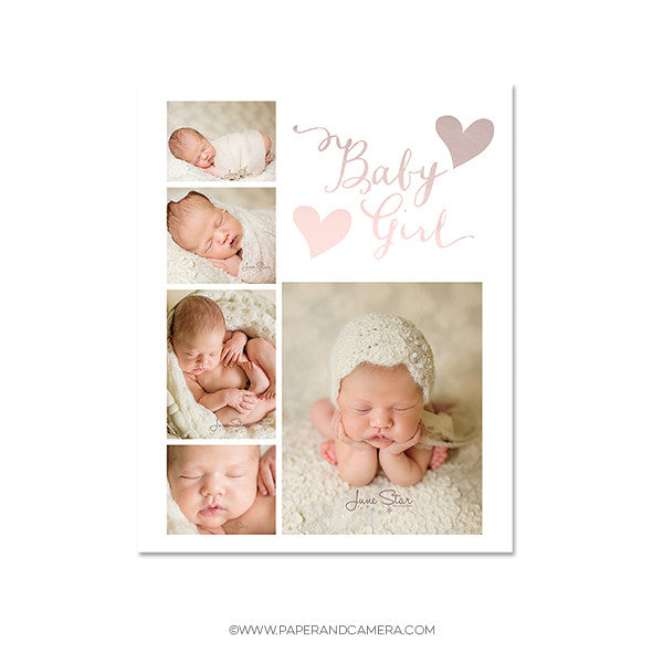 Baby Girl Blog Board