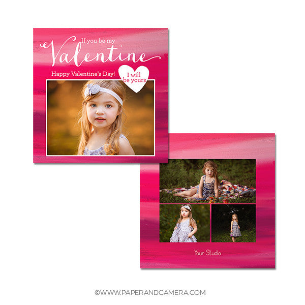Be My Valentine Card Set