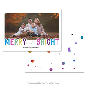 Christmas Connection Holiday Card 5x7