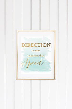 Direction Inspirational Graphic