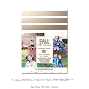 Fall Into Gold Marketing Board