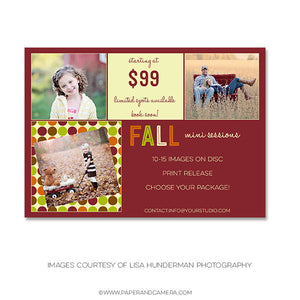 Fall Polka Marketing Board