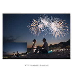 Fireworks & Sparkler Overlays Mini Set