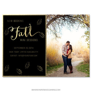 Foiled Fall Marketing Board