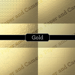 Gold Digital Backdrop Set