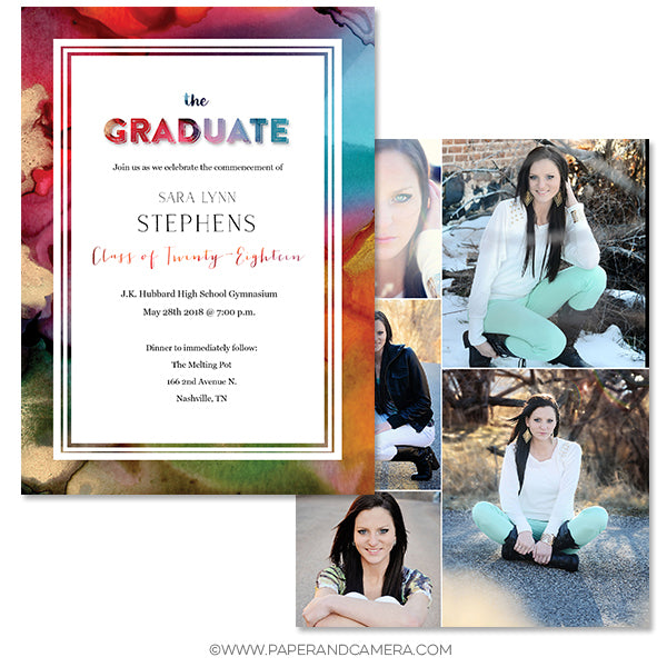 Gold Rush Grad Card