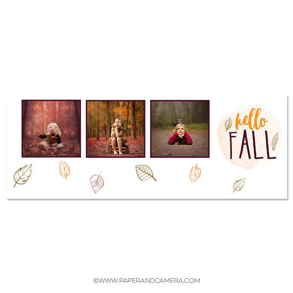 Hello Fall Timeline Cover