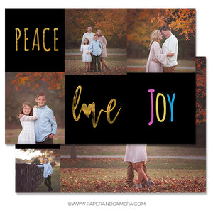 Joy Holiday Card 5x7