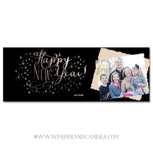 New Year Confetti Timeline Cover