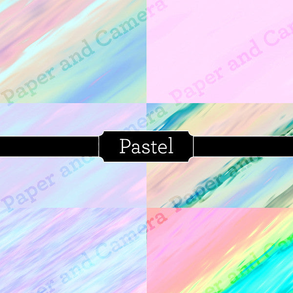 Pastel Digital Backdrop Set