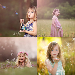 """Summer Magic"" Overlays for PicMonkey"
