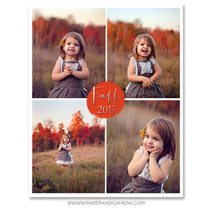 Simply Fall Blog Board