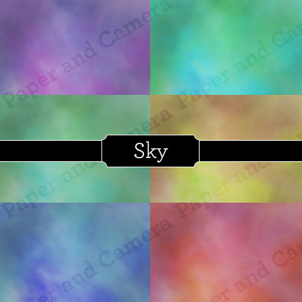 Sky Digital Backdrop Set